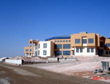 Construction of cultural center of Duhok university