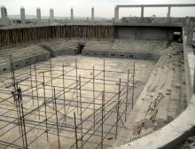 Building a sport hall in Duhok university city