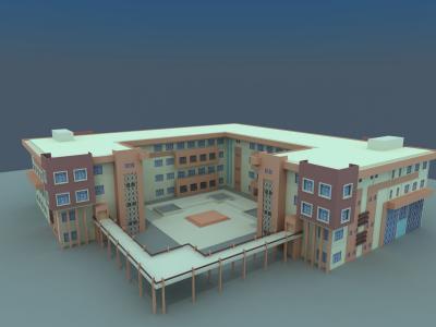 بناء كلية الطب و التمريض في قرية زانكو
